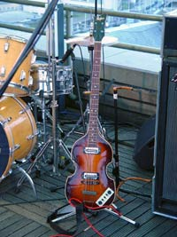 1. The Hofner violin bass as made immortal by Paul McCartney
