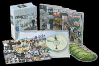 The Beatles Anthology arrayed to view all contents