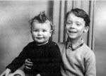 John (left) and Steve Hackett as youngsters (courtesy)
