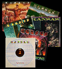 Montage of album covers 1974-1982