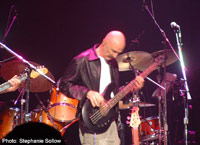 Tony Levin Band at NEARFest (photo: Stephanie Sollow)