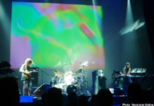 Ozric Tentacles at NEARFest (photo: Stephanie Sollow)