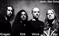 Prototype (circa 2000; l to r: Kragen, Kirk, Vince and Pat)