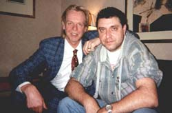 Rick Wakeman and John 'Bo Bo' Bollenberg