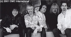 Styx (l to r: Gowen, Shaw, Burtnik, Young and Sucherman; courtesy Chipster Entertainment)